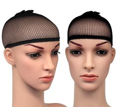 Blisstime Pack of 3 Wig Cap Open End Black Mesh Net Liner Weaving Cap * You can get additional details at the image link. (This is an affiliate link) Black Hair Wigs, Black Wig, Black Mesh, Long Straight Black Hair, Wigs With Bangs, Costume Wigs, Moisturizer For Dry Skin, Womens Wigs