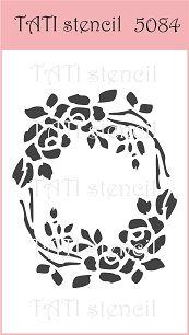 Трафарет гибкий TATI stencil 5084