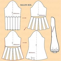 Dress With Sleeves Pattern Sewing Tutorials