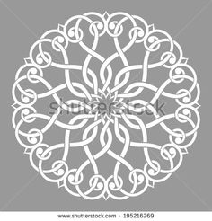 Arabesque decor. Mandala. Vector Illustration.