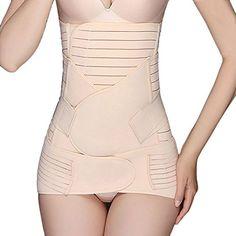 56c856a6c1828 Three-Piece Suit Belly Abdomen Pelvis Simming After Pregnancy Belt Waist  Band Postpartum Belly Band Girdles Abdomen Body Shaper