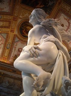 "Gian Lorenzo Bernini: ""The Rape of Proserpina"",1622. (Bernini completed this magnificent piece at the ripe old age of 23! What did you do at age 23?)"