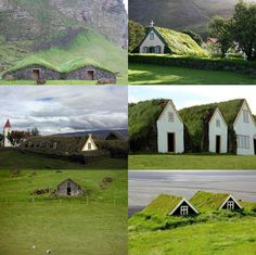 THE ICELANDIC TURF HOUSES