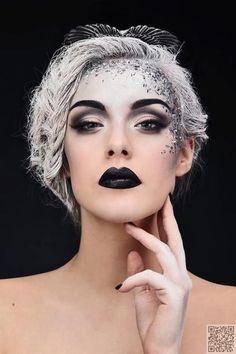 7. #Stepmother - #Beauty or Art? #Stunning Avant #Garde #Makeup ... #Batman
