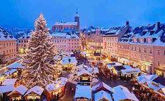 Oslo Christmas time down town