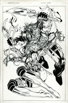 WildCats X-Men: Golden Age (Jim Lee Pencils, Scott Williams Inks)