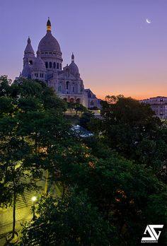 Godd Morning by A.G. Photographe on Flickr.Sacré Coeur, Paris, France (HDR)