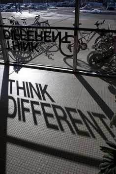Think Different by Philip Stier, via Behance