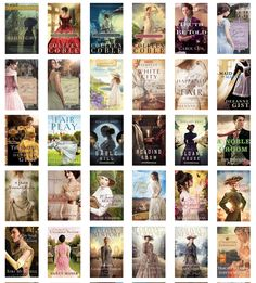 Early 20th Century Book List in pictures! Christian Historical Fiction