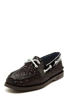 edf8752fc882 Black Sparkly Sperries Beyond The Rack, Sperry Top Sider, Black Glitter,  Shopping Websites