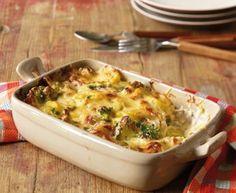 Broccoli-Kartoffel-Käse-Auflauf - [ESSEN UND TRINKEN]