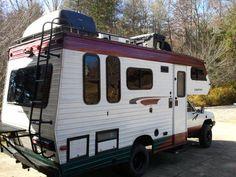 1986 Toyota Coachmen RV camper Class C with 4WD Conversion