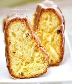 babka z bakaliami Polish Recipes, Polish Food, Confectionery, Chocolate, Banana Bread, French Toast, Sweets, Breakfast, Bundt Cakes