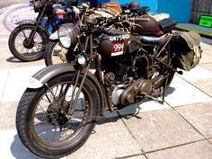 WW2 1942 BSA M20 Motorcycle