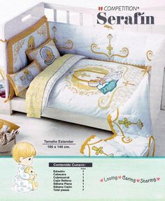 from Catalogo Colchas Competition y Primavera Comforters, Bed Pillows, Pillow Cases, Bb, Blanket, Home, Headboards, Drawers