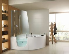 Wonderful Soaking Tub And Shower Combo Contemporary - Best Image ...