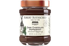 Rich dark chocolate and cool peppermint are blended together to create this smooth and refreshing dessert topping. $6.99 at robertrothschild.com.