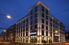 Hotel amano Berlin. Vibrant, trendy, edgy hotel in the heart of Mitte - Berlin.