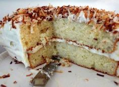 Best coconut cake recipe ever - and it uses a cake mix from a box!