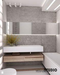 surowa betonowa łazienka - zdjęcie od MIKOŁAJSKAstudio - Łazienka - Styl Eklektyczny - MIKOŁAJSKAstudio