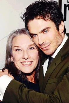 Ian & his mother