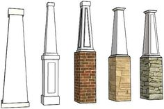 Measure / Order PVC Column Wraps Elite Trimworks Inc. - Online Store for Wainscoting, Beadboard .Elite Trimworks Inc. - Online Store for Wainscoting, Beadboard . Craftsman Columns, Craftsman Porch, Craftsman Exterior, Craftsman Style Homes, Craftsman Bungalows, Pvc Column Wraps, Front Porch Columns, Brick Columns, Square Columns