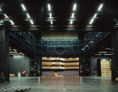 Photographer Klaus Frahm has documented the eye-opening views seen from theatre stages.