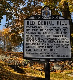 Old Burial Hill in Marblehead, MA
