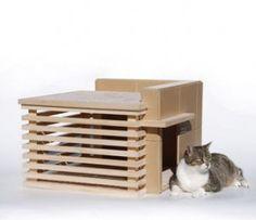 Frank Lloyd Wright Prefab cat house