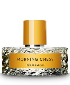 Vilhelm Parfumerie Morning Chess Eau de Parfum 100ml   Beauty   Liberty.co.uk Inspired by the memory of the summer holidays shared with his grandfather, Vilhelm Parfumerie Morning Chess Eau de Parfum mimics the ripe, green lushness of summer on coastal Falkenberg. There, in a summer cottage, his grandfather, would pass hours battling wits over a chessboard. The grassy greenness is light enough to hint at the evergreen sharpness of the distant winter air.