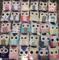 Owls by Moxie and Zab