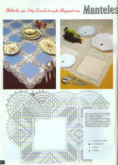 This Pin was discovered by Ask Crochet Dollies, Crochet Fabric, Crochet Tablecloth, Crochet Home, Knit Crochet, Vintage Crochet Patterns, Doily Patterns, Crochet Designs, Knitting Patterns
