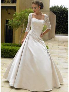 elegant dress with a higher neckline