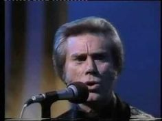 "GEORGE JONES, the country music legend has died at For five decades he sang some of the greatest songs in country music -- including ""She Thinks I Still Care,"" ""The Grand Tour"" and possibly his most famous ""He Stopped Loving Her Today"" Music Love, Good Music, My Music, Old Country Music, Country Music Stars, Love Songs Lyrics, Music Songs, Music Quotes, Musica"