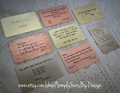 Custom Wallet Card Insert Personalized by SimplyYoursByDesign