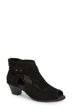 Earth® 'Intrepid' Peep Toe Bootie (Women) available at #Nordstrom