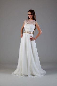 hollywood illusion wedding dress by princessmemaria