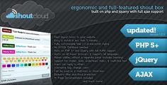 ShoutCloud - Flexible PHP/AJAX Shoutbox/Chat