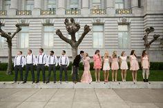 Romantic New Year's Eve Wedding- photo pose idea