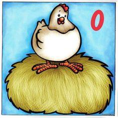 0 telkaart kip zonder eieren