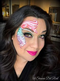 Face Paint Makeup, Eye Makeup, Adult Face Painting, Face Paintings, Paint Ideas, Beauty And The Beast, Witches, Make Up, Colours