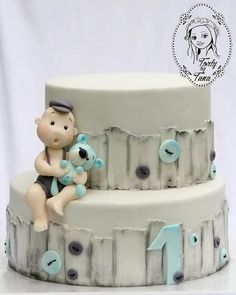 cake for first birthday by grasie