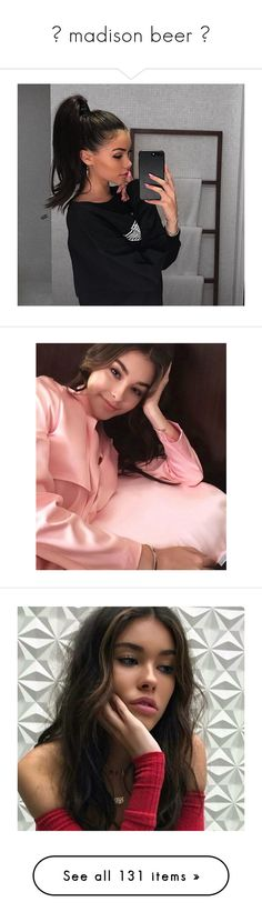 """""""☼ madison beer ☼"""" by cocainaaron ❤ liked on Polyvore featuring madison beer, madison, selena, selena gomez, jadison, home, home decor, people, girls and pictures"""