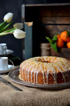 Heart of Gold: Tangerine Olive Oil Cake with Pasolivo Olive Oil