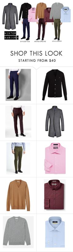 winter basics m by jimenaaguirre on Polyvore featuring Express, Chaps, Saks Fifth Avenue, Banana Republic, Ted Baker, Tallia Orange, Burberry, Acne Studios, Everlane and men's fashion