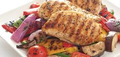 Sandra Lee Grilled Chicken Ratatouille- Grilled Chicken Ratatouille