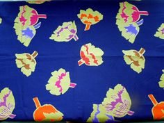 """RESERVED for INNA Marimekko Rare Fabric by Fujiwo Ishimoto """"Suitsuki"""" 1997 1.5 yrds Gold Floral Seamstress Project Birthday by Passion4Europe on Etsy https://www.etsy.com/au/listing/455562864/reserved-for-inna-marimekko-rare-fabric"""