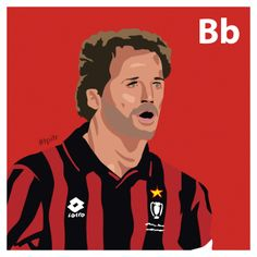 B is for Franco Baresi. #atoz #tpitr