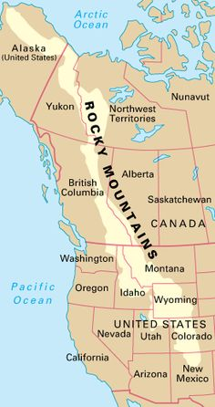 Adventure Canadian Rockies Mountain Range And Mountains - Rocky mountains on the us map