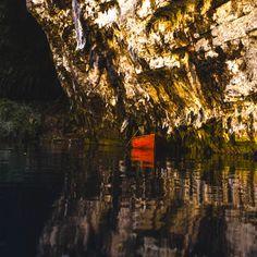 Ethereal Melissani lake #Kefalonia